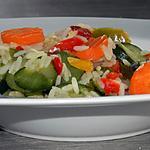 recette Riz pilaf aux légumes