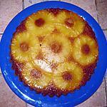 recette Gâteau renversé à l'ananas facile