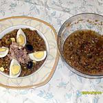 recette salade mechouia (c une trés bonne salade tunisiénne)