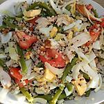 recette Salade de quinoa aux poulet