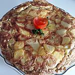 recette TORTILLA DE POMMES DE TERRE