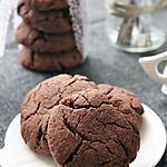 recette Cookies au chocolat { sans gluten, sans lait, sans oeufs }