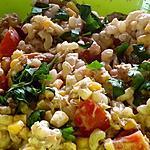 recette Salade de pâtes express au thon et basilic