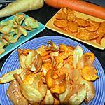 recette Chips aux carottes et aux panais