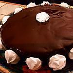 recette Gateau au chocolat meringue