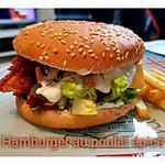recette Hamburger au poulet épicé