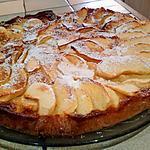 recette Gateau fondant aux pommes