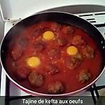 recette Tajine de kefta aux oeufs.