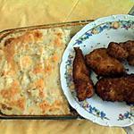 recette Escalope de dinde + Purée de pomme de terre au four