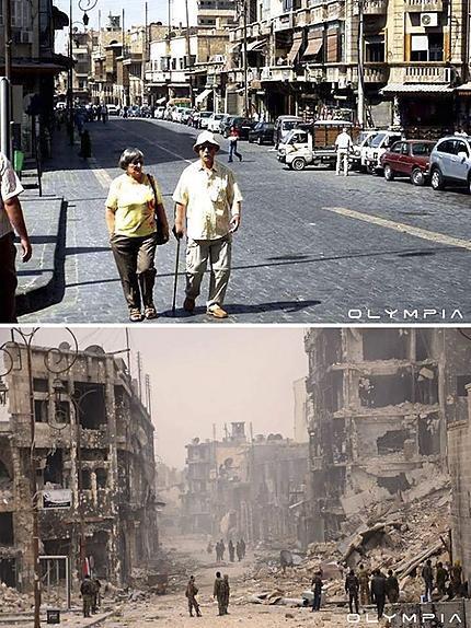 """Résultat de recherche d'images pour """"Syrie : avant et après"""""""