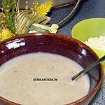 recette Potage aux champignons