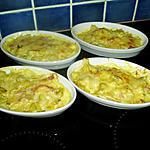 gratin d'endives au jambon et curry