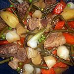 recette Sauté de veau aux légumes de printemps