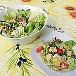 recette Salade composée et accompagné de fromage d'abbaye de Grimbergen
