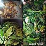 recette Jetée d'épinards et graines de tournesol