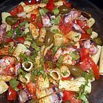 recette Salade de pates aux lamelles d encornets
