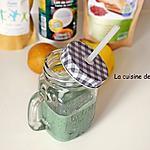 recette Smoothie poire, banane, coco, linette et spiruline