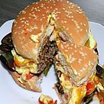 recette Hamburger maison aux 3 sauces