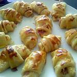 recette Minis croissants apéritifs