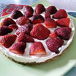recette tarte aux fraises (sans cuisson)