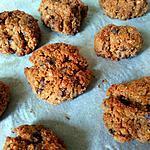 recette Recette fond du frigo : cookies au pain rassis choco - pistache