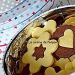 recette Biscuit vanille - chocolat