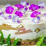 recette Cheesecake à la rhubarbe