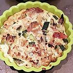 recette Flan poulet courgettes