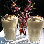 recette Mousse légère mangue et gingembre avec ou sans fraises ....