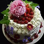 recette Layer cake aux fraises, très girly