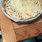 recette Quiche au thon, surimi et macédoine de légumes