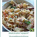 recette Salade de Mezze Naniche Rigate au thon et sauce ranch