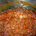 recette Chili con carne(à ma façon)