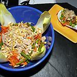 recette Salade de chicons au thon et morceaux de noix de cajou