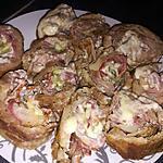 recette Rôtis roulé d'échine de porc façon Orloff