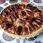 recette Tarte aux pommes et aux amandes