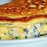 recette Omelette aérienne à la ciboulette