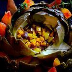 recette Artichaut fleur
