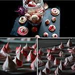 recette meringues bicolores