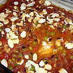 recette Filets de poisson sauce aux amandes