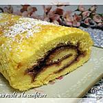 recette Gâteau roulé à la confiture sans gluten et sans lactose