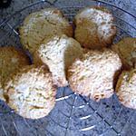 recette cookies noix de coco pépite de chocolat blanc
