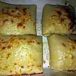 recette Crêpes jambon béchamel mozzarella