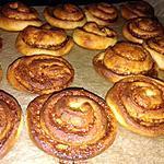 recette Cinnamon rolls  roulés à la cannelle