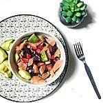 recette Salade de printemps gourmande et légère