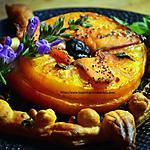 recette Feuilleté fleur à la tomate et tapenade noire