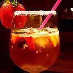 recette Pim's tonic au gingembre et multifruits