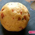 recette Pâte brisée aux tomates confites,  parmesan et basilic sans beurre