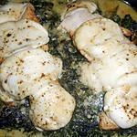 recette Escalope de dinde florentine