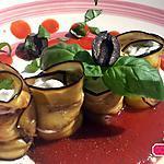 recette Aubergines farcies à la ricotta, basilic et olives